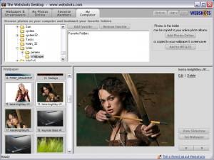 Webshots Desktop - náhled
