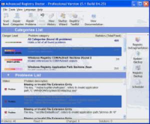 Advanced Registry Doctor Pro - náhled