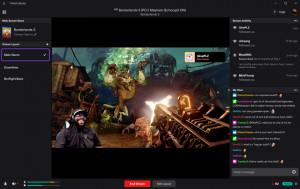 Twitch Studio - náhled