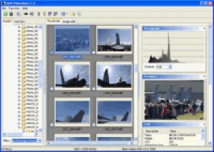 RAW PhotoDesk - náhled