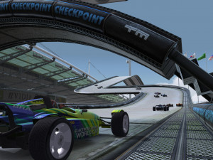 TrackMania Nations - náhled