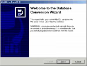 MySQL-to-Excel - náhled