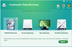 Coolmuster Data Recovery - náhled