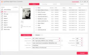 SpotiKeep Apple Music Converter - náhled