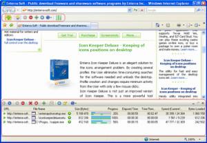 Enterra Download Manager - náhled