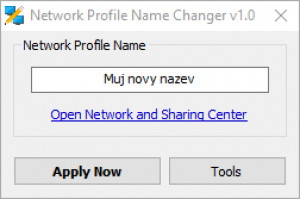 Network Profile Name Changer - náhled