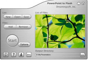PowerPoint to Flash - náhled