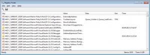 Registry Finder - náhled