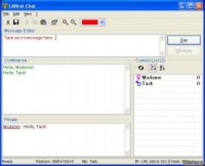 LANcet Chat - náhled