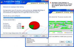 Disk Defrag  - náhled