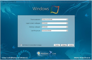 Windows 8 UX Pack - náhled