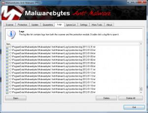 Malwarebytes Anti-Malware - náhled