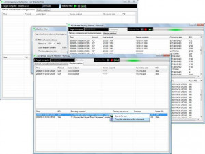ADVantage Security Monitor - náhled