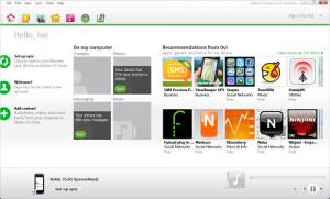 Nokia Ovi Suite - náhled