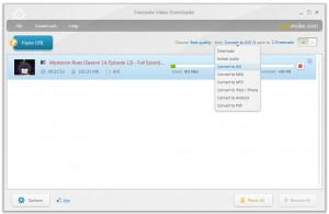 Freemake Video Downloader - náhled