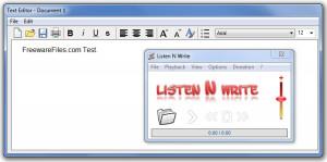 Listen N Write - náhled