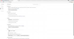 Google Chrome Canary - náhled