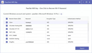 PassFab Wifi Key - náhled