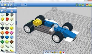 Lego Digital Designer - náhled