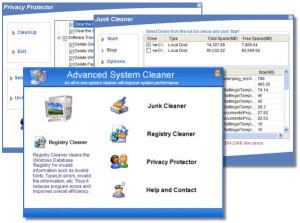 Advanced System Cleaner - náhled