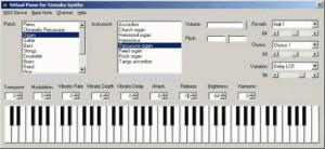 Virtual Piano - náhled