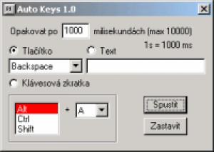 Auto Keys - náhled