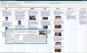 iTV - televizní program - náhled