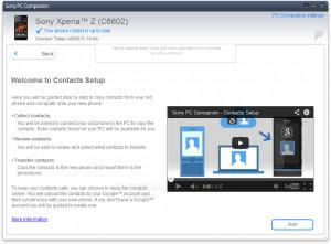 Sony PC Companion - náhled