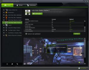 NVIDIA GeForce Experience - náhled