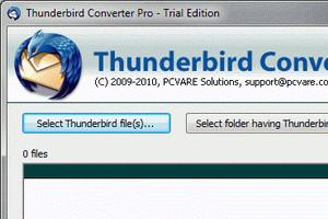 Thunderbird Converter - náhled