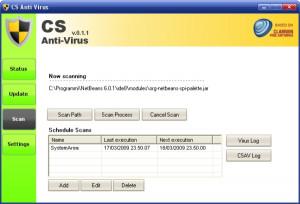 CS Anti-Virus - náhled