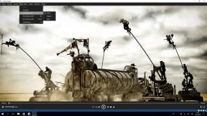 C Media Player - náhled