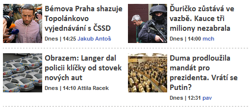 články bez perexu na webu Aktuálně.cz