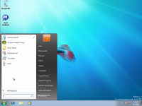 Windows 7 Beta 1 - menu