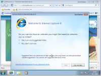 Windows 7 Beta 1 - MSIE 8