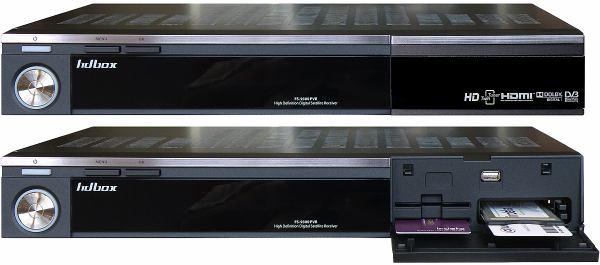 HD-BOX FS-9300 PVR přední panel