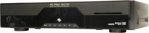 AB IPBox 910HD přední panel
