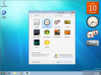 Windows 7 Beta 1 - gadgety