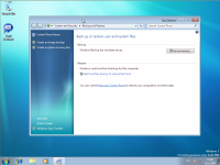 Windows 7 Beta 1 - Backup and Restore