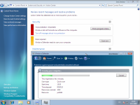 Windows 7 Beta 1 - Action Center, Windows Defender