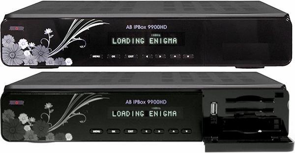 AB IPBox 9900 BB přední panel