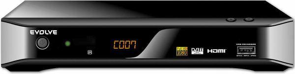 EVOLVE DT- 3010HD přední panel