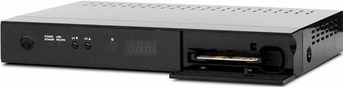 Opticum HD X100 přední panel CI slot
