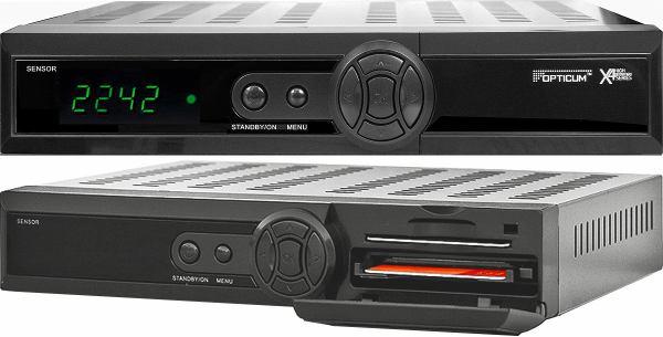 Opticum x403p HD přední panel