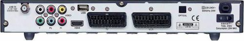Comag SL90 HD zadní panel
