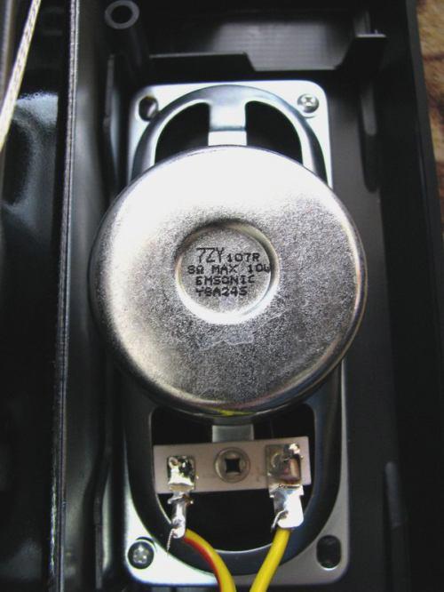 Sencor STV 2112DVBT - vnitřek repro