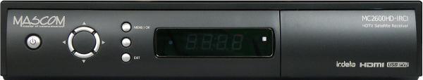 MASCOM MC2600HD IRCI přední panel 2