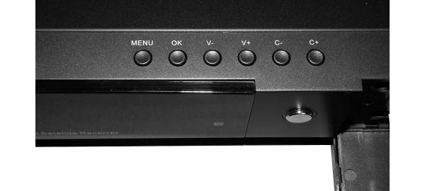 DreamSky NXP256HD vrchní panel