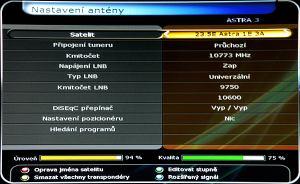 01 HD-BOX FS-9300 PVR nastavení antény