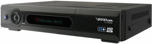 Vantage VT-600S přední panel natočený